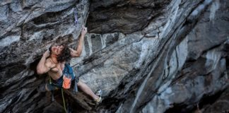 Adam Ondra dans Exchange Project - Photo Bernardo Gimenez
