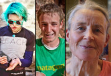 Claire Bukowski, Pete Whittaker et Christine Gambert