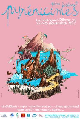 Affiche Pyrénicimes 2017