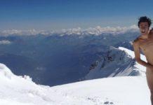 Kilian Jornet, tout nu sur le Mont-Blanc