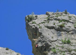 Fête à la falaise de Saint-Moirans le 22 octobre 2017