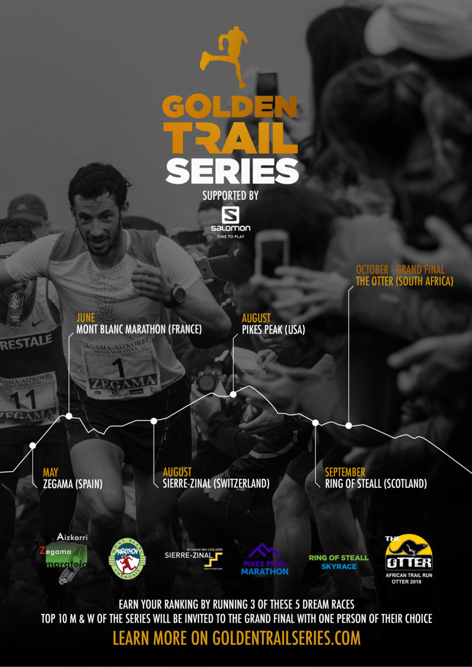 Affiche Golden Trail Series Salomon
