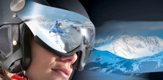 Casque de ski = protection